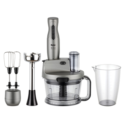 Fakir - Mr Chef Quadro Blender Set Silver Stone