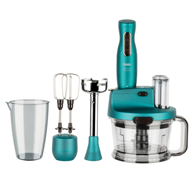 Mr Chef Quadro Blender Set Turquoise