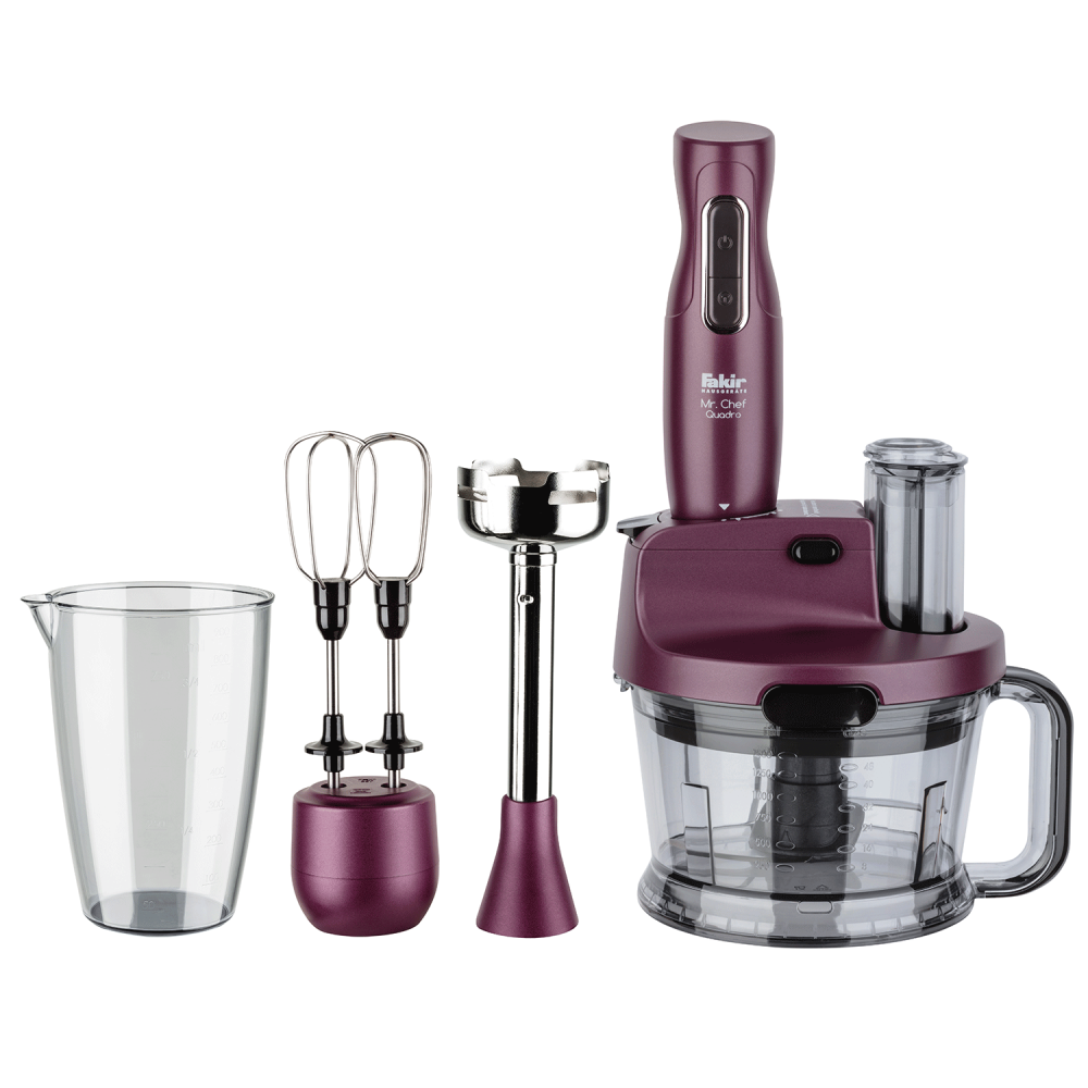 Mr Chef Quadro Blender Set Violet